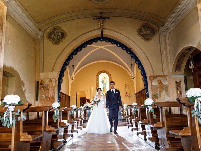 Il matrimonio di Luca e Melissa a Appiano Gentile, Como 67