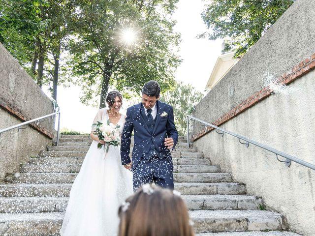 Il matrimonio di Luca e Melissa a Appiano Gentile, Como 69