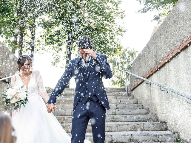 Il matrimonio di Luca e Melissa a Appiano Gentile, Como 70