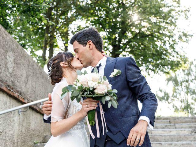 Il matrimonio di Luca e Melissa a Appiano Gentile, Como 71