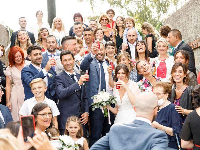 Il matrimonio di Luca e Melissa a Appiano Gentile, Como 73