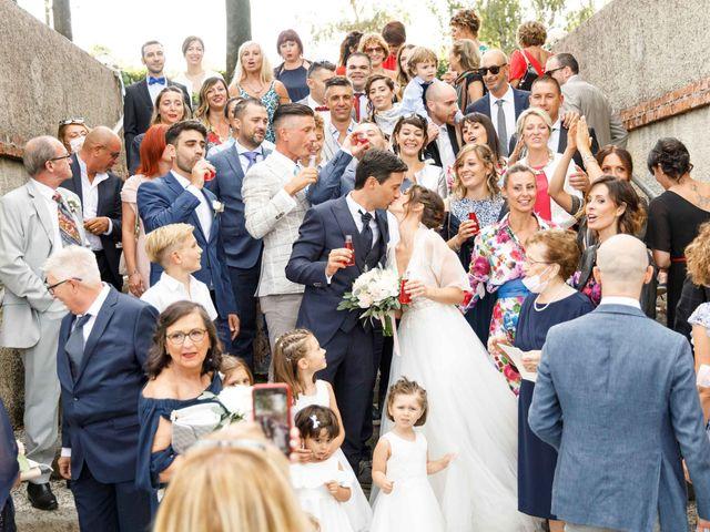 Il matrimonio di Luca e Melissa a Appiano Gentile, Como 74