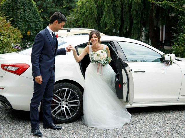 Il matrimonio di Luca e Melissa a Appiano Gentile, Como 86