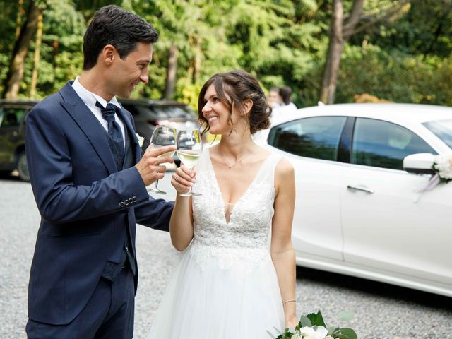 Il matrimonio di Luca e Melissa a Appiano Gentile, Como 87