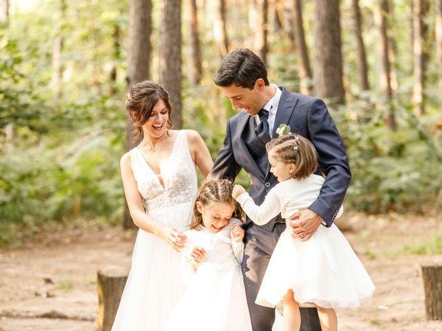 Il matrimonio di Luca e Melissa a Appiano Gentile, Como 115