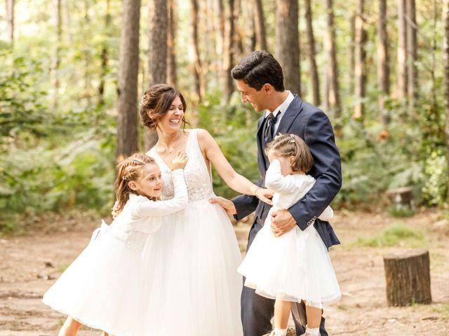 Il matrimonio di Luca e Melissa a Appiano Gentile, Como 116