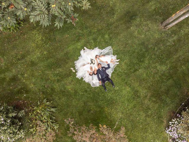 Il matrimonio di Luca e Melissa a Appiano Gentile, Como 120