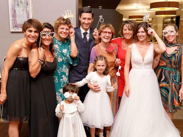 Il matrimonio di Luca e Melissa a Appiano Gentile, Como 132