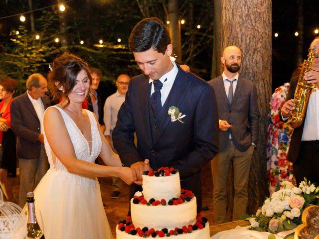 Il matrimonio di Luca e Melissa a Appiano Gentile, Como 147
