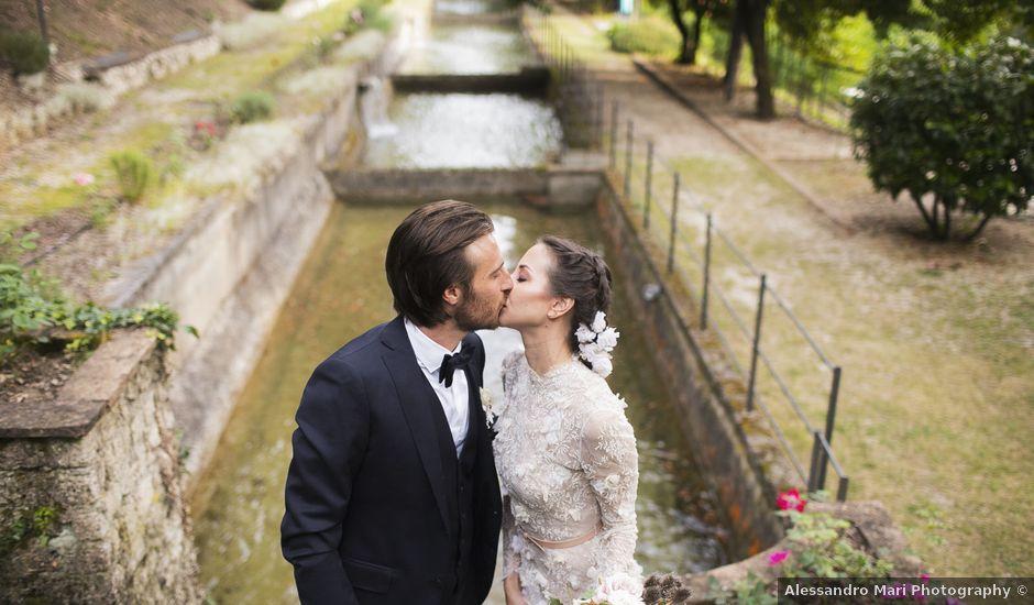 Il matrimonio di Riccardo e Elena a Spoleto, Perugia