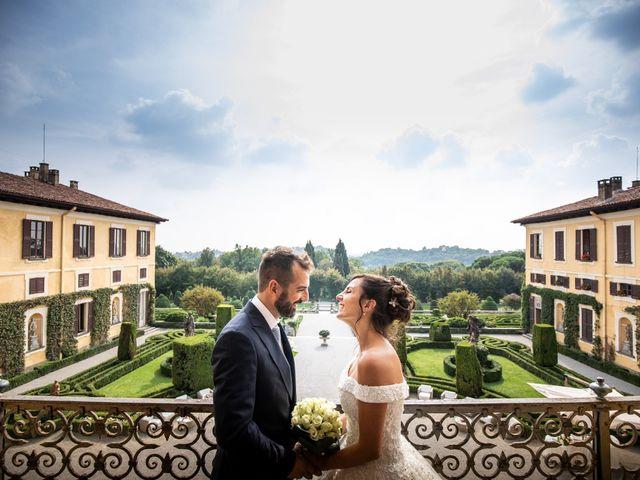 Le nozze di Antonella e Matteo