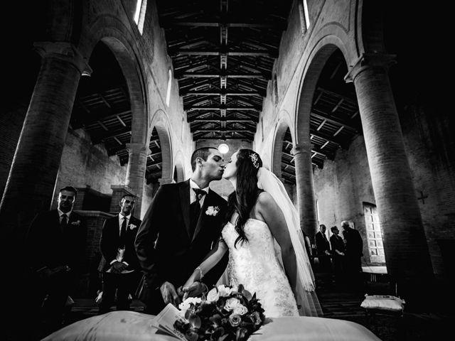 Il matrimonio di Dario e Alessia a Palaia, Pisa 14