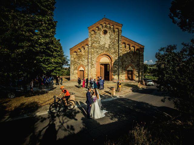 Il matrimonio di Dario e Alessia a Palaia, Pisa 21