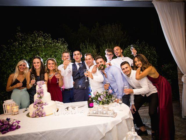 Il matrimonio di Dario e Alessia a Palaia, Pisa 45