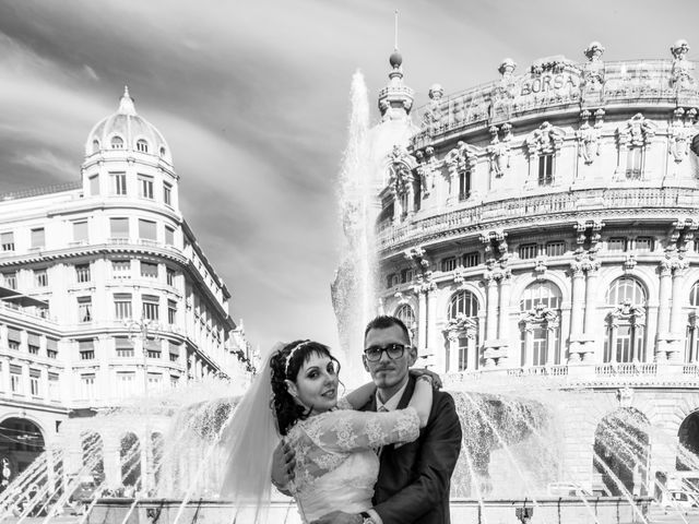 Il matrimonio di Fabio e Ramona a Genova, Genova 11