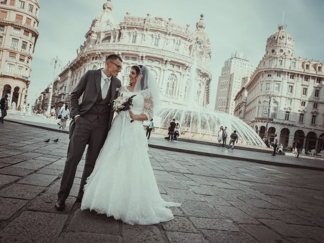 Il matrimonio di Fabio e Ramona a Genova, Genova 24