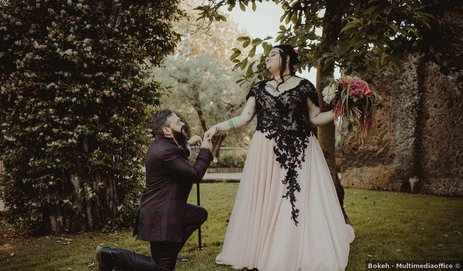 Il matrimonio di Andrea e Beatrice a Viterbo, Viterbo