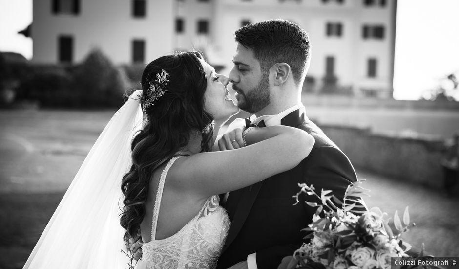 Il matrimonio di Simone e Giulia a Frascati, Roma