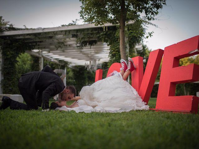 le nozze di Ilenia e Daniele