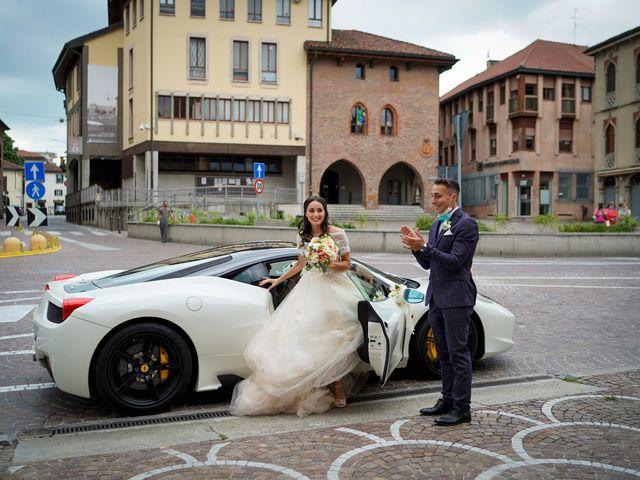 Il matrimonio di Maurizio e Serena a Melegnano, Milano 30