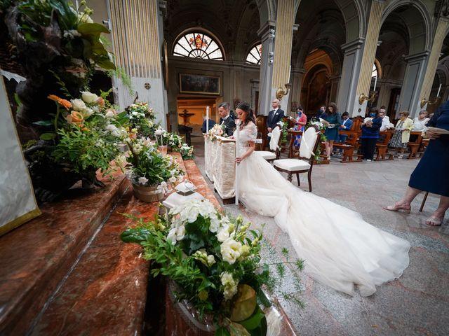 Il matrimonio di Maurizio e Serena a Melegnano, Milano 42