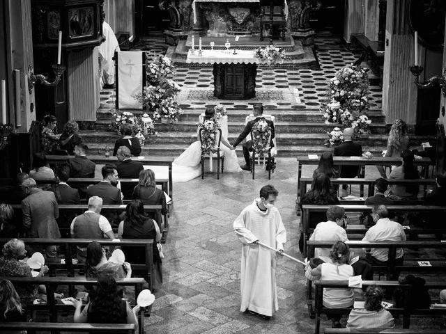 Il matrimonio di Maurizio e Serena a Melegnano, Milano 43