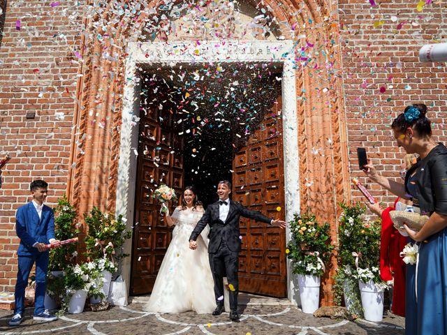 Il matrimonio di Maurizio e Serena a Melegnano, Milano 46