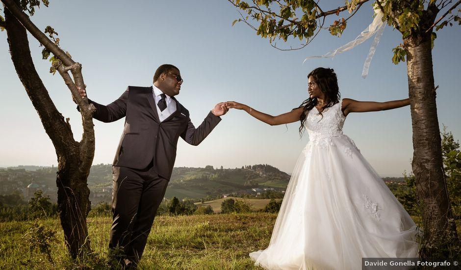 Il matrimonio di Japhet e Jessie a Vicoforte, Cuneo