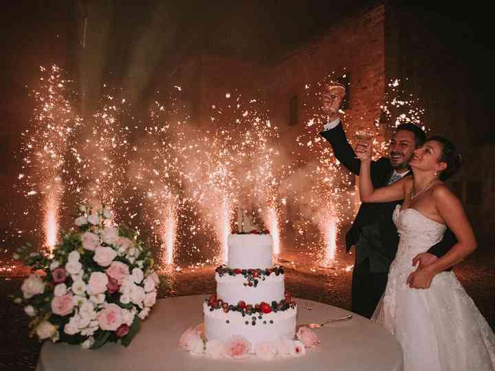 Le nozze di Chiara e Francesco
