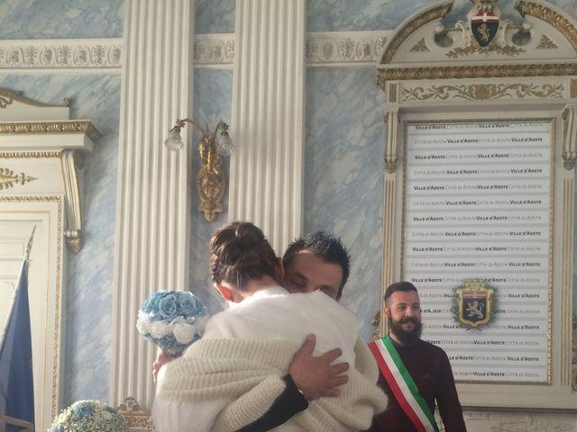 Il matrimonio di Denuer e Celina a Aosta, Aosta 4