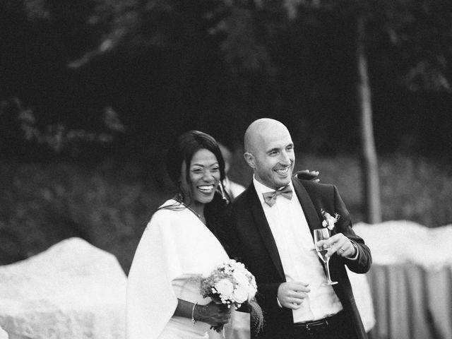 Le nozze di Laetitia e Luca