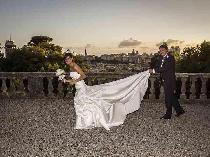 Le nozze di Alessandra e Denis
