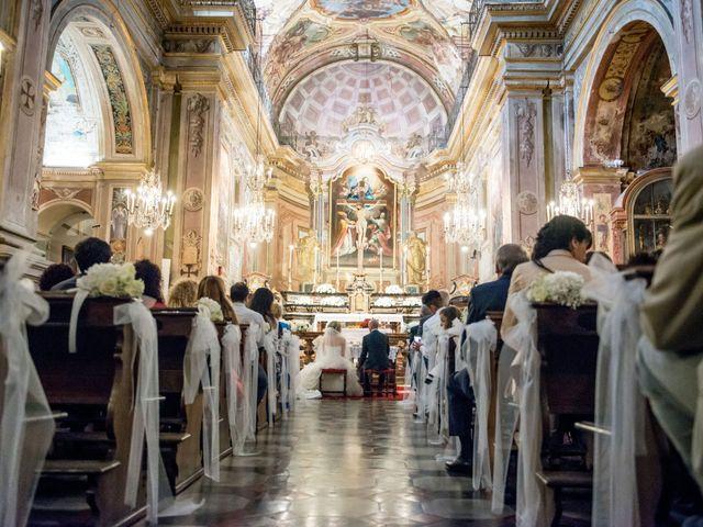 Il matrimonio di Davide e Simona a Canelli, Asti 34