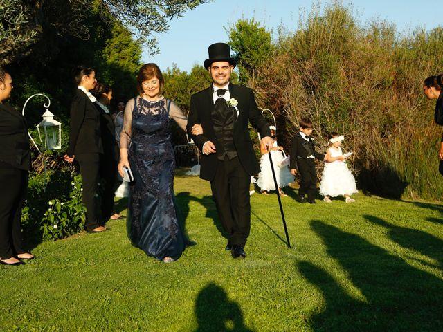 Il matrimonio di Marco e Erika a Domus de Maria, Cagliari 8