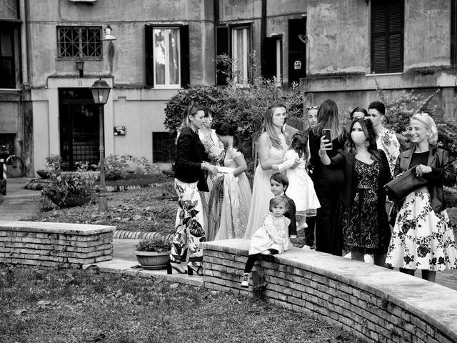 Il matrimonio di Claudia e Pier Luca a Roma, Roma 9