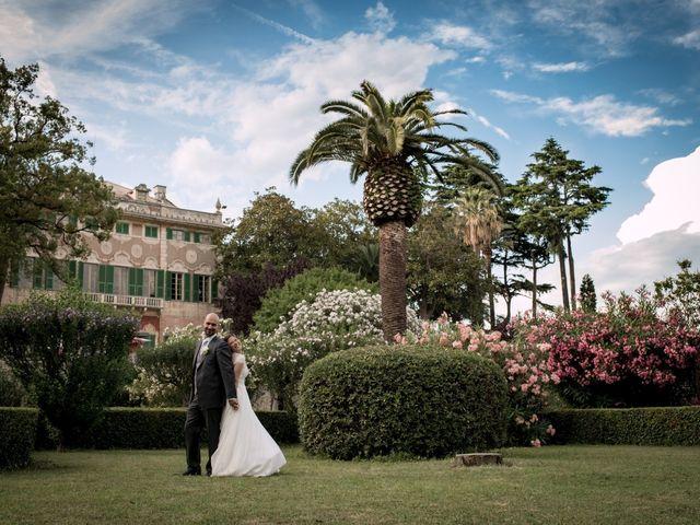 le nozze di Adriana e Michalis