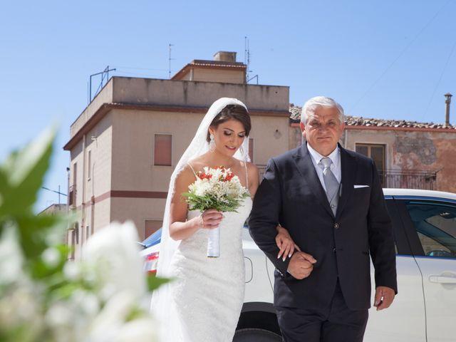Il matrimonio di Rosolino e Francesca a Roccamena, Palermo 4
