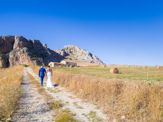 Il matrimonio di Rosolino e Francesca a Roccamena, Palermo 15