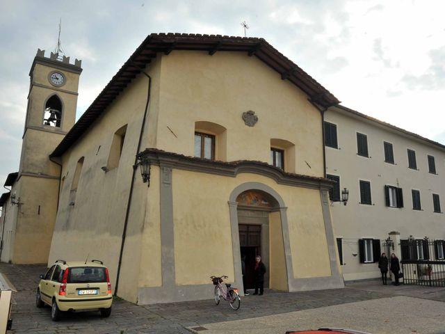 Il matrimonio di Emanuele e Elisa a Massa e Cozzile, Pistoia 37