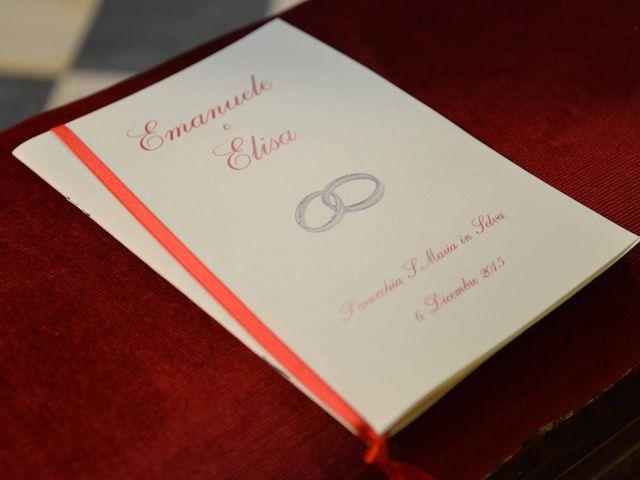 Il matrimonio di Emanuele e Elisa a Massa e Cozzile, Pistoia 44