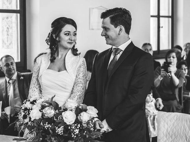 Il matrimonio di Marco e Barbara a Trino, Vercelli 39