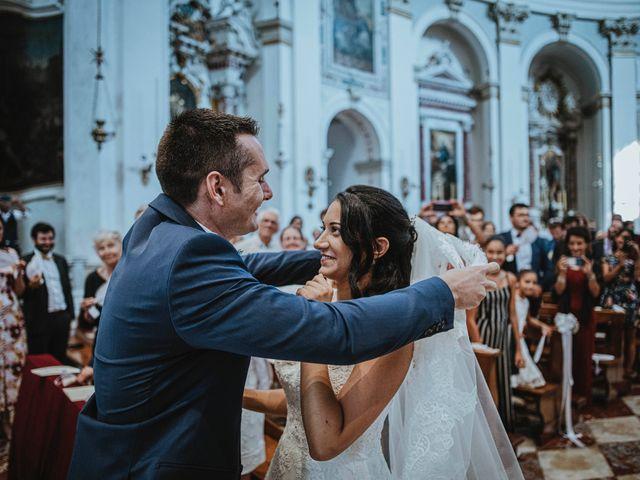 Il matrimonio di Antoine e Giulia a Este, Padova 25