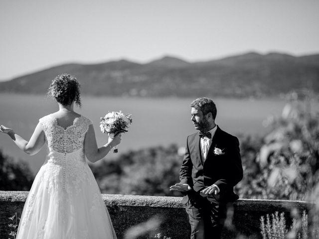 Il matrimonio di Emanuele e Alessandra a Ghiffa, Verbania 17