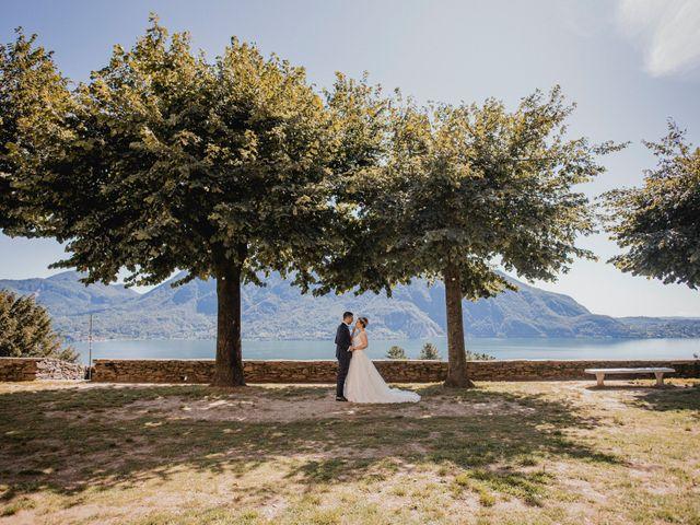 Il matrimonio di Emanuele e Alessandra a Ghiffa, Verbania 38