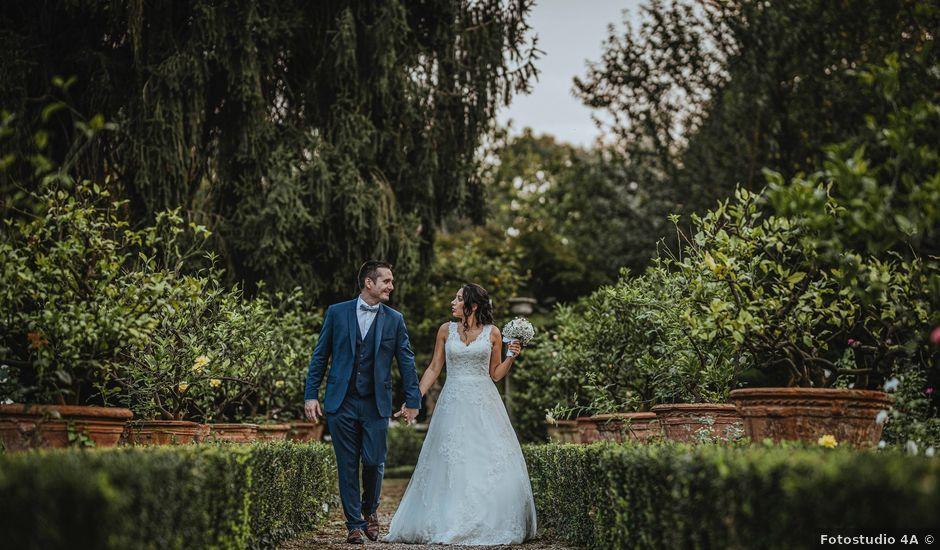 Il matrimonio di Antoine e Giulia a Este, Padova