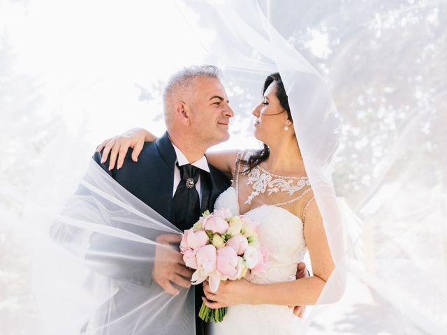 le nozze di Cinzia e Lillo