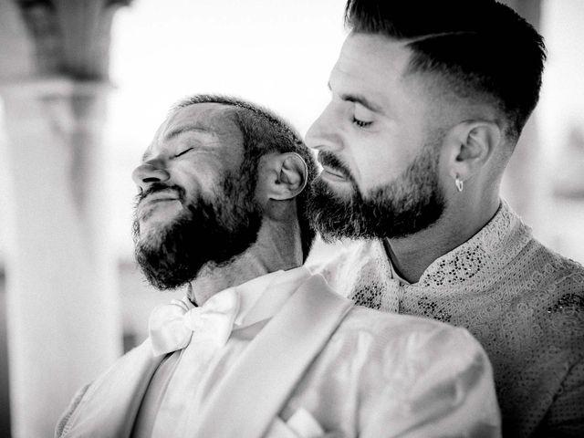 le nozze di Marco e Antony