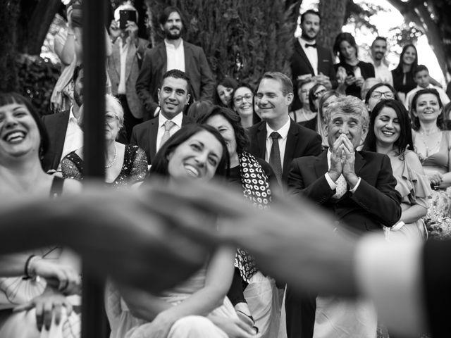 Il matrimonio di Jean Francoise e Francesca a Poggio Berni, Rimini 1