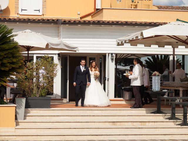 le nozze di Olgina e Mario