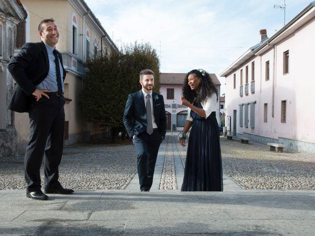 Il matrimonio di Marco e Angela a Casalbeltrame, Novara 18